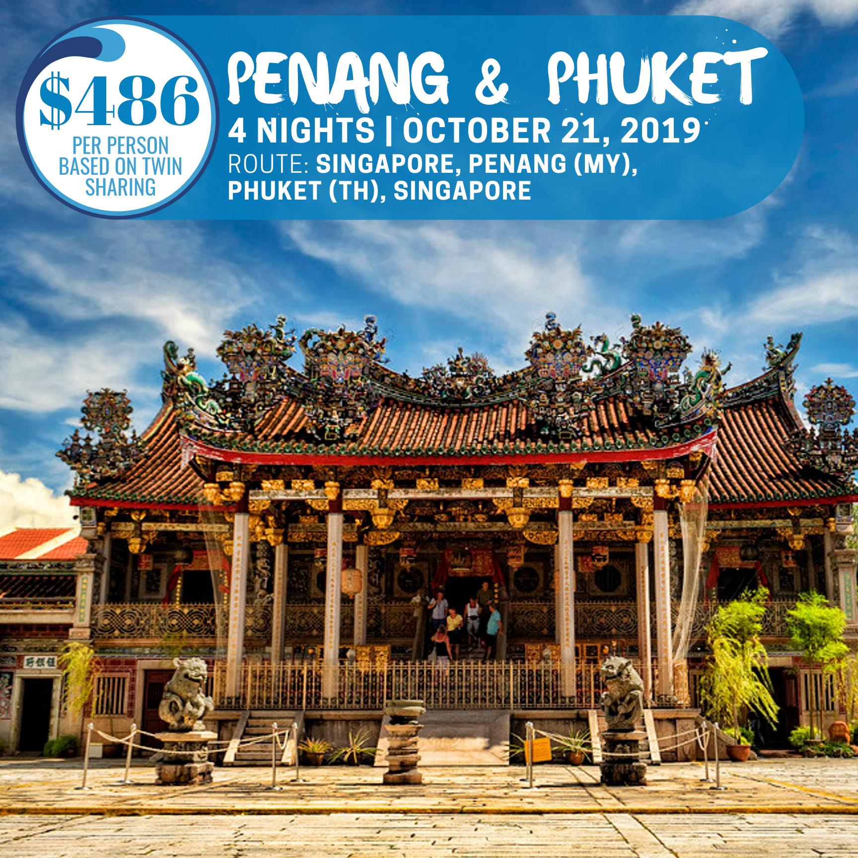 Penang and Phuket