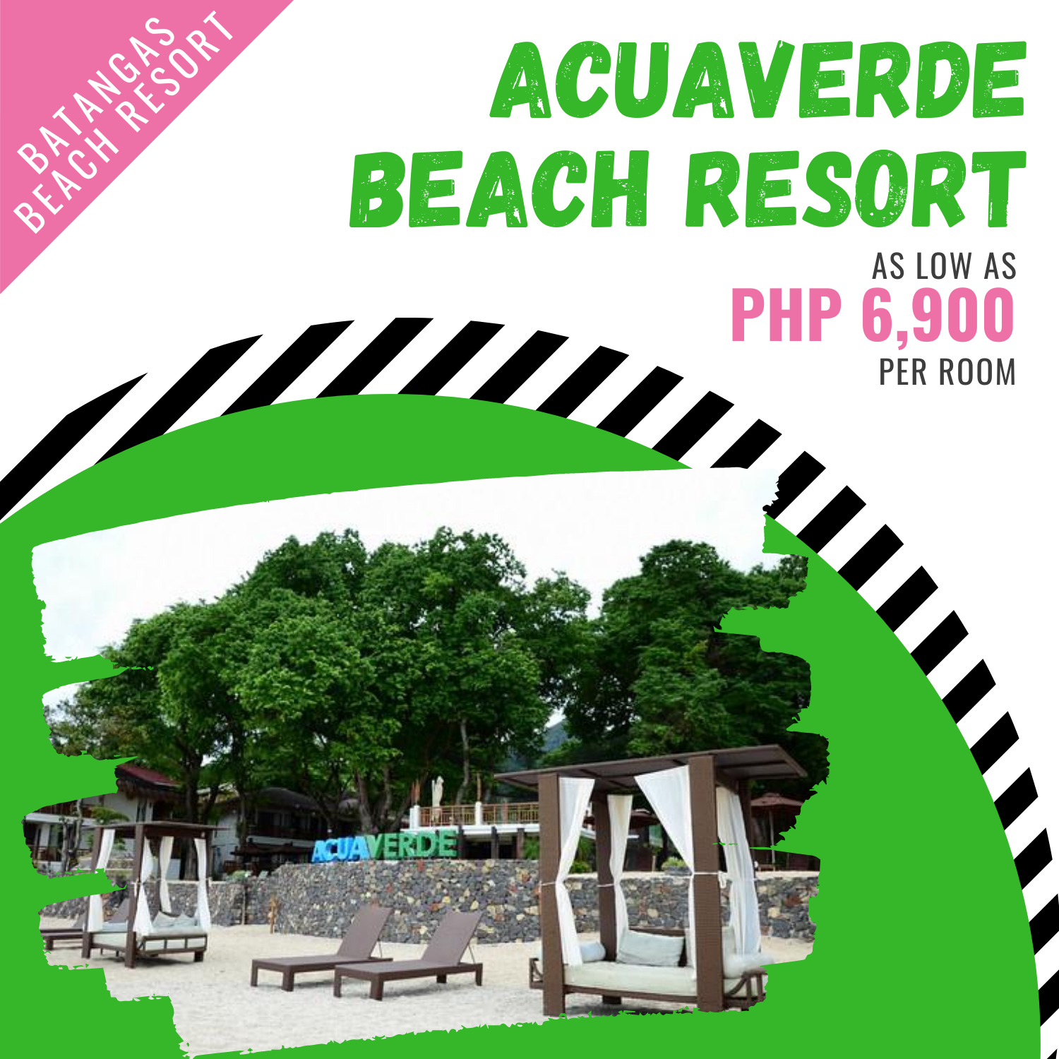 Acuaverde Beach Resort, Batangas
