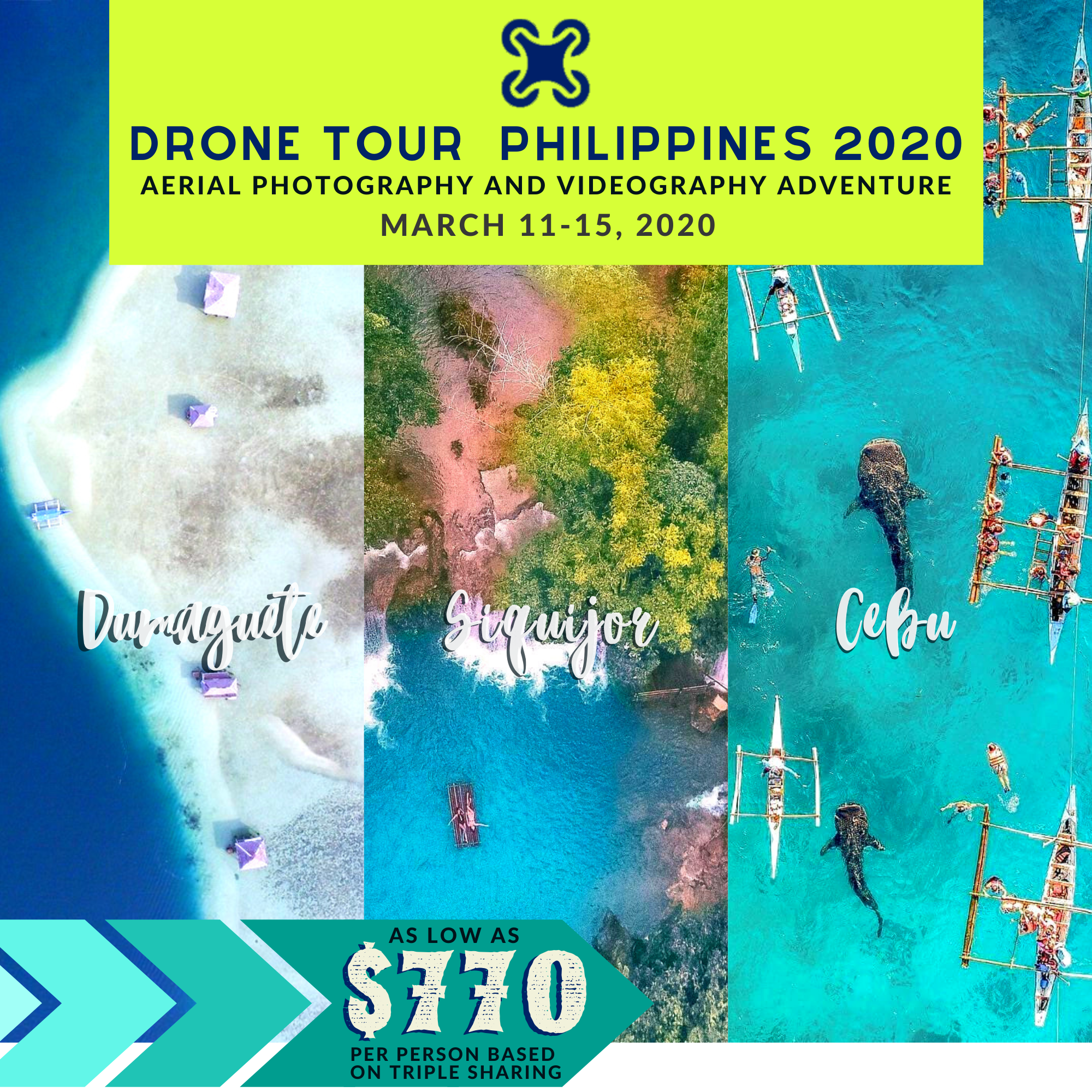 Drone Tour Philippines 2020