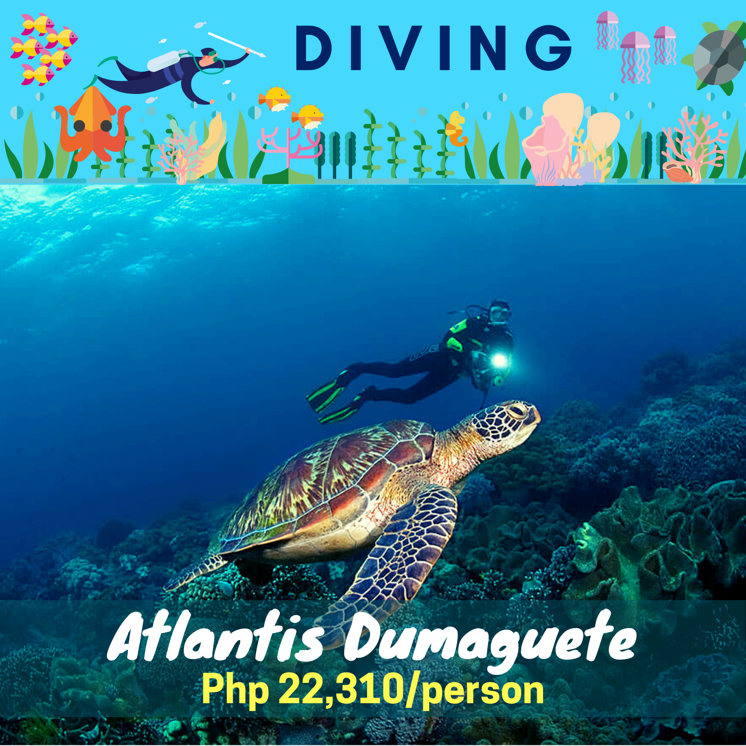 Atlantis Dumaguete  Diving Package