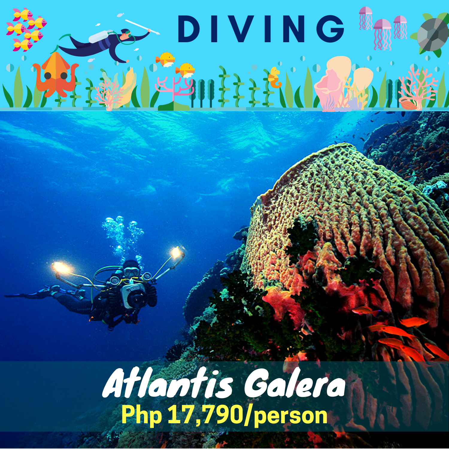 Atlantis Puerto Galera Diving Package