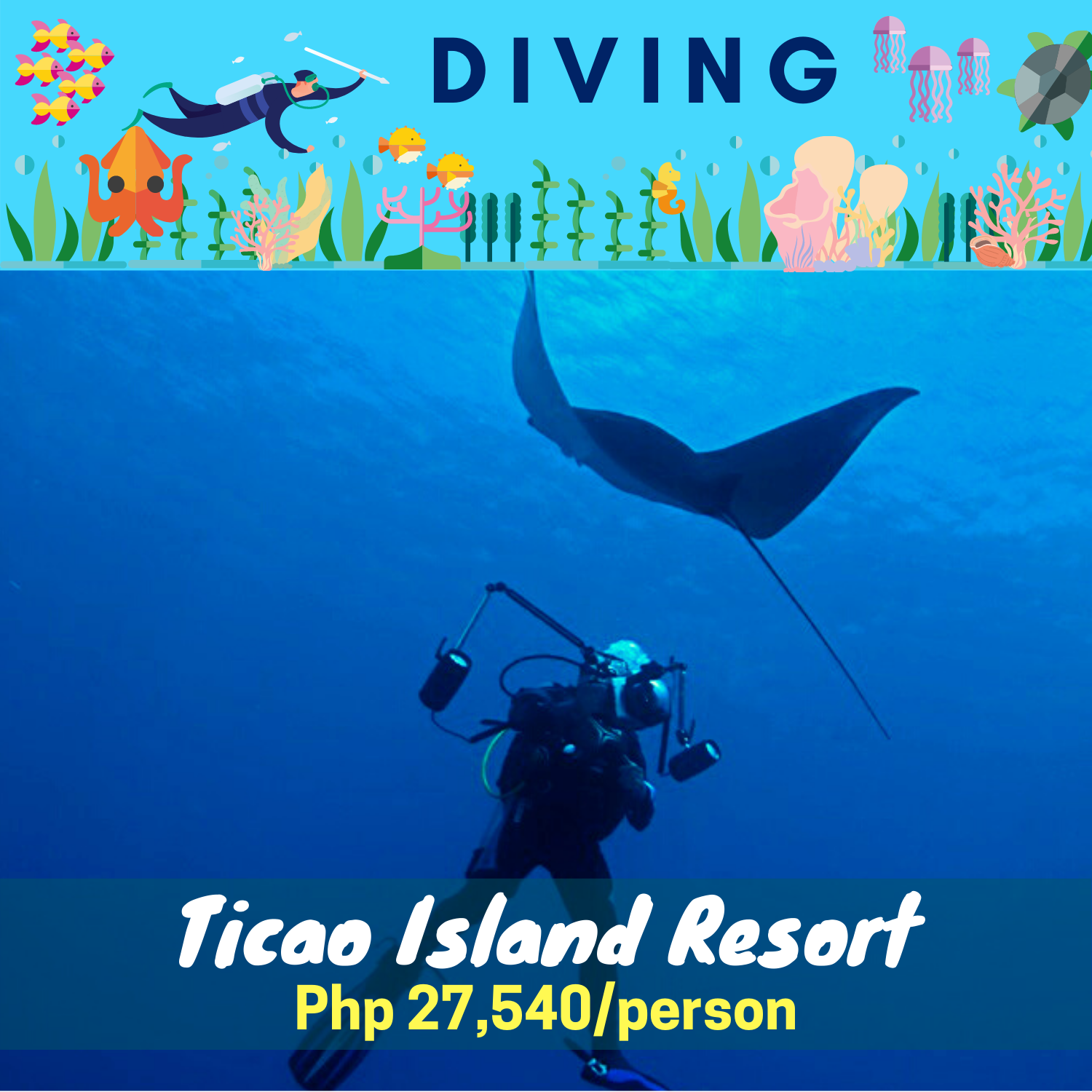 Ticao Island Resort Diving Package