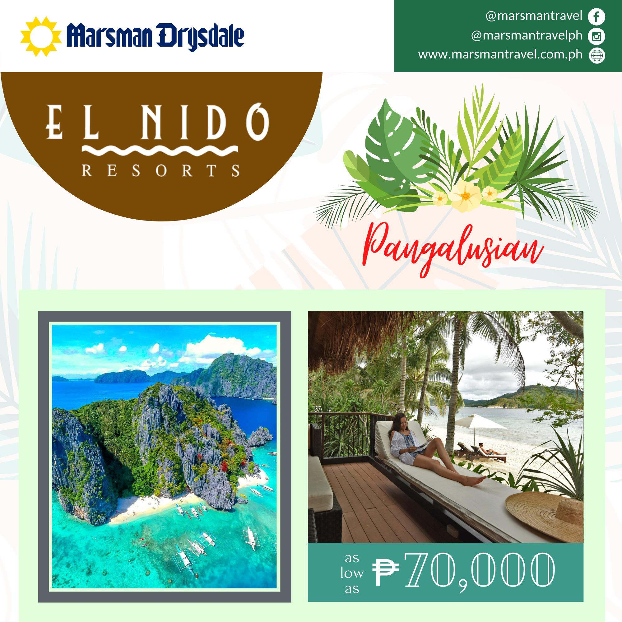 EL NIDO RESORTS-PANGALUSIAN