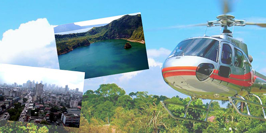 Manila + Taal Aerial Private Tour