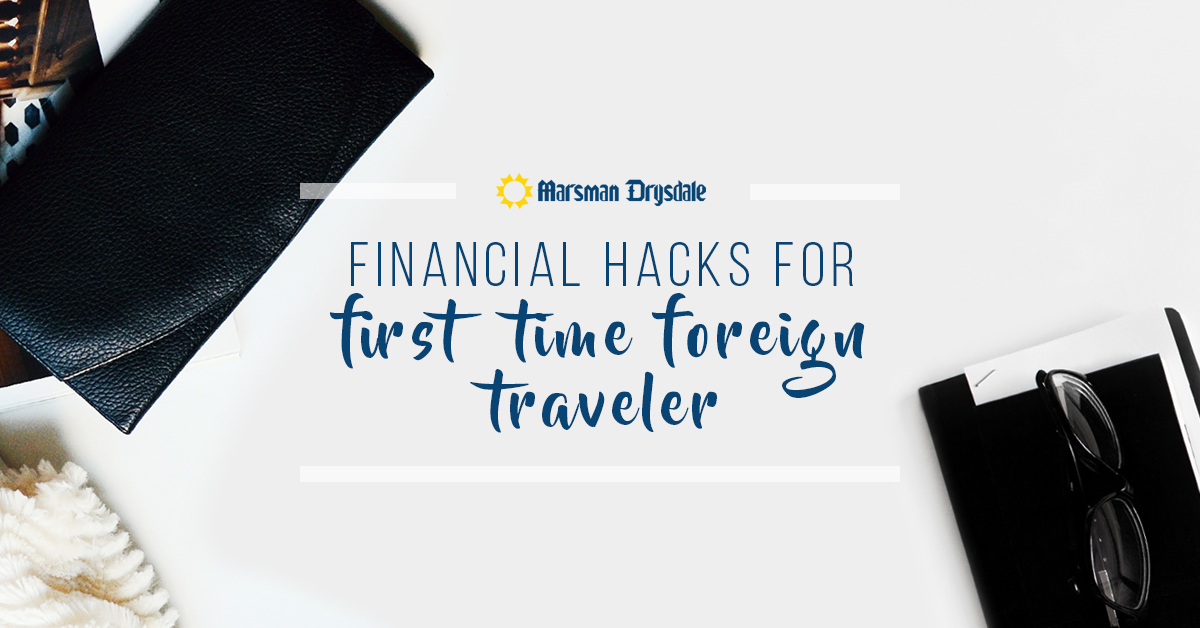 financial hacks for foreign travel