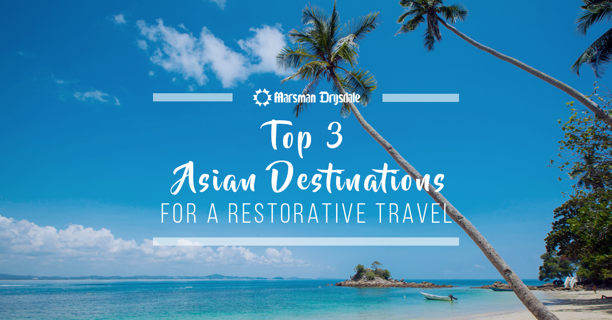asian destinations for healing