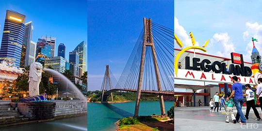 Tri City: Singapore, Indonesia & Malaysia