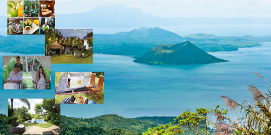 Taal Volcano Trek + Spa